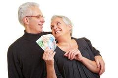 συνταξιοδοτική αποταμί&epsil Στοκ φωτογραφία με δικαίωμα ελεύθερης χρήσης