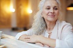 Συνταξιούχο θηλυκό στοκ φωτογραφία με δικαίωμα ελεύθερης χρήσης