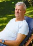 Συνταξιούχο πορτρέτο ατόμων Στοκ εικόνα με δικαίωμα ελεύθερης χρήσης
