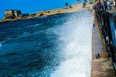 συντετριμμένα κύματα στοκ εικόνες με δικαίωμα ελεύθερης χρήσης