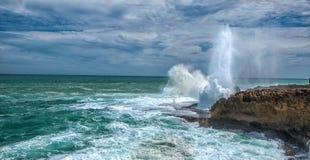 συντετριμμένα κύματα Στοκ Εικόνα