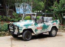 Συντονισμός αυτοκινήτων UAZ στοκ φωτογραφίες