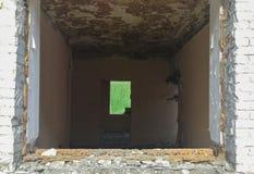Συντρίμμια ενός διαβίωση σπιτιού στοκ φωτογραφίες με δικαίωμα ελεύθερης χρήσης