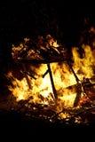 συντρίμμια καψίματος Στοκ φωτογραφίες με δικαίωμα ελεύθερης χρήσης