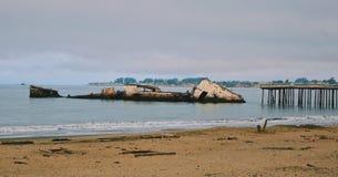 Συντρίμμια σκαφών στοκ φωτογραφία με δικαίωμα ελεύθερης χρήσης