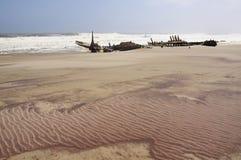 Συντρίμμια σκαφών στοκ φωτογραφίες