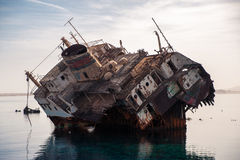 Συντρίμμια σκαφών Στοκ Φωτογραφία