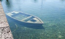 Συντρίμμια Suncken Στοκ φωτογραφία με δικαίωμα ελεύθερης χρήσης