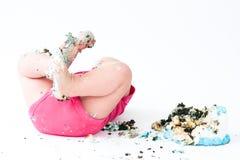 Συντριβή κέικ Στοκ φωτογραφίες με δικαίωμα ελεύθερης χρήσης