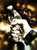 Συντριβή μπουκαλιών Στοκ φωτογραφία με δικαίωμα ελεύθερης χρήσης