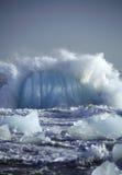 συντριβή παγόβουνων Στοκ Εικόνες