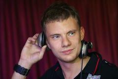 συντριβή του DJ Στοκ φωτογραφίες με δικαίωμα ελεύθερης χρήσης