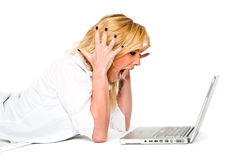 συντριβή υπολογιστών στοκ φωτογραφία με δικαίωμα ελεύθερης χρήσης
