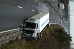 Συντριβή φορτηγών Στοκ Φωτογραφίες