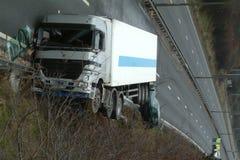 Συντριβή φορτηγών Στοκ εικόνα με δικαίωμα ελεύθερης χρήσης