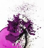 συντριμμένα προϊόντα σύνθεσης - ομορφιά και ορισμένη καλλυντικά έννοια στοκ εικόνες