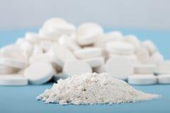συντριμμένα χάπια Στοκ εικόνες με δικαίωμα ελεύθερης χρήσης