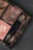 Συντριμμένη σκιά ματιών στο κιβώτιο Στοκ Φωτογραφίες
