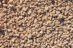 Συντριμμένη σύσταση αμμοχάλικου Στοκ Εικόνες