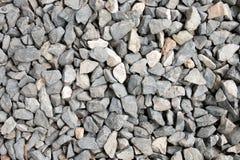 Συντριμμένη σύσταση αμμοχάλικου Στοκ Φωτογραφία