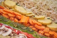 Συντριμμένο λαχανικό για το ορεκτικό Στοκ Εικόνες