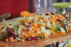 Συντριμμένο λαχανικό για το ορεκτικό Στοκ Φωτογραφία