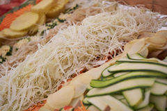 Συντριμμένο λαχανικό για το ορεκτικό Στοκ φωτογραφία με δικαίωμα ελεύθερης χρήσης