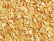 συντριμμένο ξηρό σκόρδο Στοκ Φωτογραφία