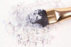συντριμμένο applicator λευκό σκιών Στοκ Φωτογραφίες