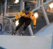 Συντριφθείς το Red Bull ανταγωνισμός πάγου Στοκ Εικόνες