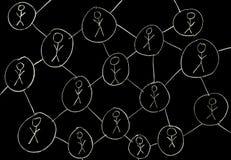 Συνδέσεις ανθρώπων Στοκ φωτογραφία με δικαίωμα ελεύθερης χρήσης