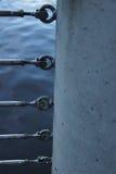 Συνδέσεις κιγκλιδωμάτων καλωδίων Στοκ εικόνες με δικαίωμα ελεύθερης χρήσης