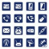 Συνδέστε τα εικονίδια Στοκ φωτογραφίες με δικαίωμα ελεύθερης χρήσης