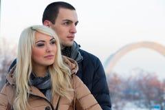 συνδέστε τις νεολαίες αγάπης Στοκ Εικόνες