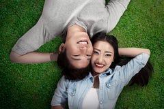 συνδέστε τις νεολαίες αγάπης Στοκ Εικόνα