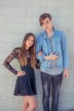 συνδέστε τις νεολαίες αγάπης Στοκ φωτογραφία με δικαίωμα ελεύθερης χρήσης