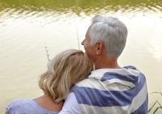 συνδέστε τους ηλικιωμένους Στοκ Εικόνες