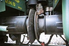 Συνδέστε το βαγόνι εμπορευμάτων Στοκ Φωτογραφίες