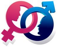 Συνδεμένα σύμβολα ελεύθερη απεικόνιση δικαιώματος