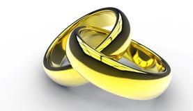 συνδεμένος γάμος δαχτυ&lam Στοκ Εικόνες