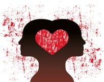 Συνδεμένος με την αγάπη ελεύθερη απεικόνιση δικαιώματος