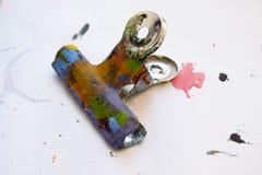 Συνδετήρας μπουλντόγκ τέχνης Στοκ εικόνα με δικαίωμα ελεύθερης χρήσης