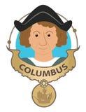 Συνδετήρας-τέχνη του Columbus απεικόνιση αποθεμάτων
