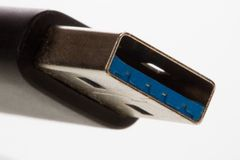Συνδετήρας USB Στοκ Εικόνες