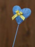 συνδεδεμένο διάνυσμα βαλεντίνων απεικόνισης s δύο καρδιών ημέρας Στοκ Φωτογραφία