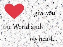 συνδεδεμένο διάνυσμα βαλεντίνων απεικόνισης s δύο καρδιών ημέρας στοκ εικόνα