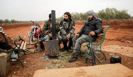 Συρία: Μαχητές Shiite Στοκ Εικόνες