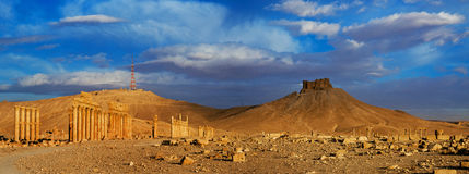 Συρία palmyra στοκ εικόνα
