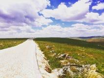 Συριακός-τουρκικά σύνορα στοκ εικόνες