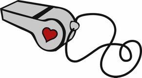 Συριγμός καρδιών Στοκ φωτογραφία με δικαίωμα ελεύθερης χρήσης